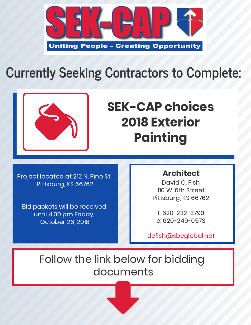 BID CHOICES EXTERIOR PAINTING 2018